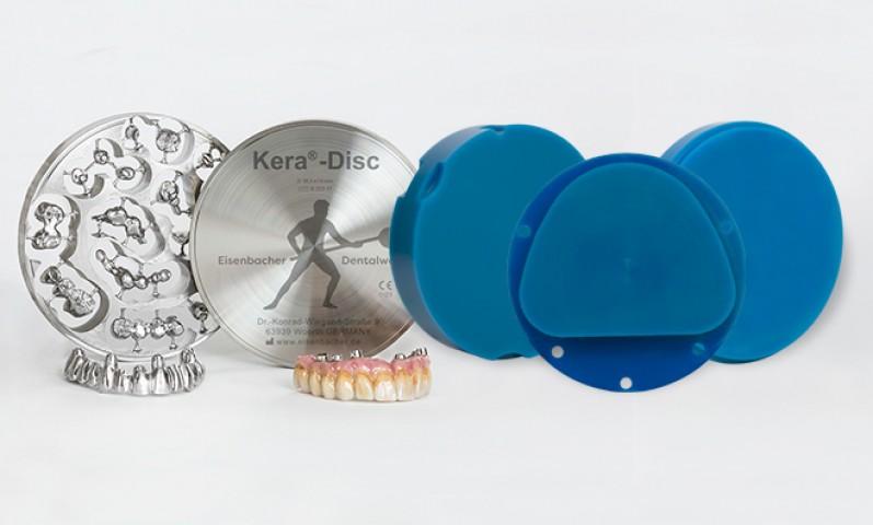Discos de Cera e Metal para CAD/CAM