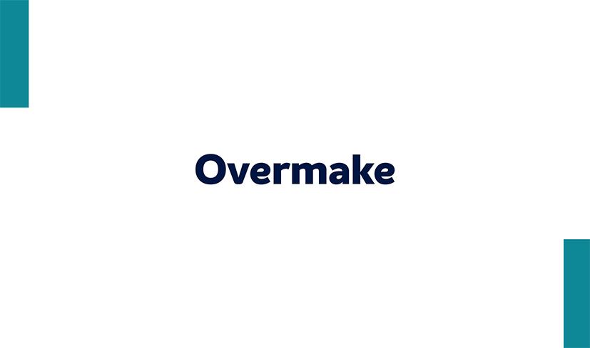 Overmake - Maquiagem de 3 elementos de dissilicato Rosetta
