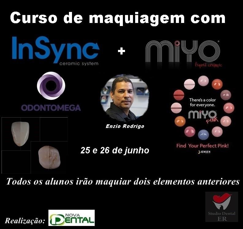 Curso de Maquiagem com InSync e MiYo
